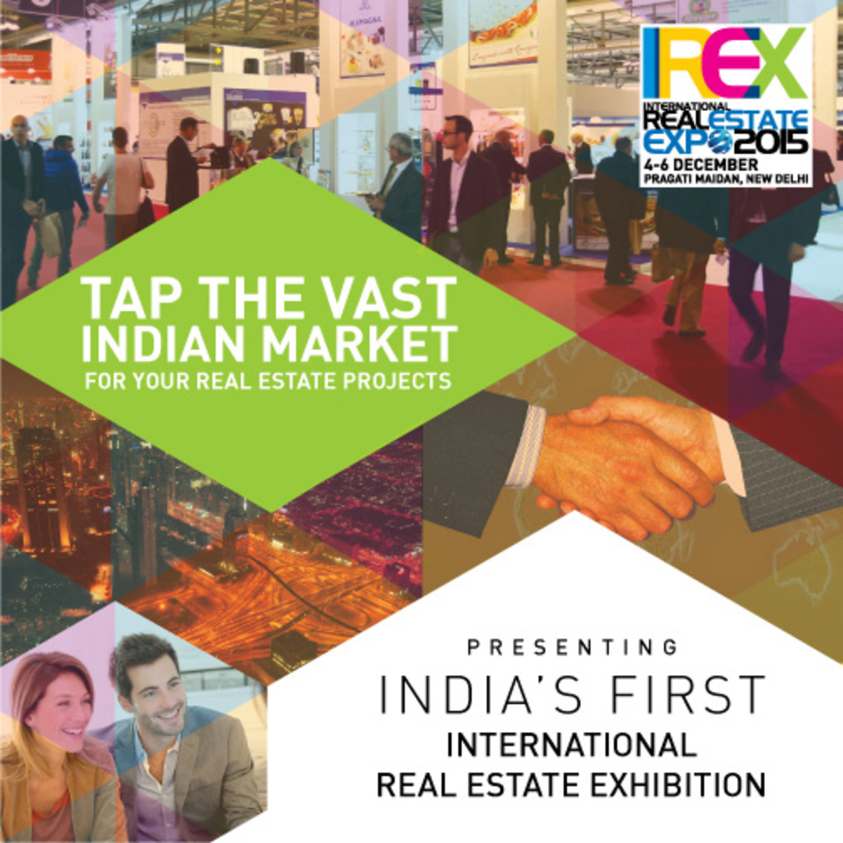 Headline for Real Estate Trade Shows 2015 in India