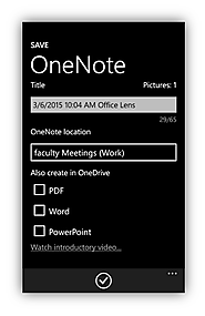 Quickly Share Student Work with OneNote