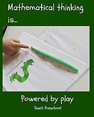 Everyday math play in preschool