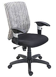 Confy Low Back Office Chair - Chairs Bazaar