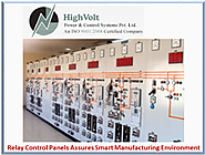 Relay Control Panels for Smart Manufacturing Technologies