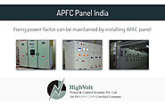 What is APFC Panel and why it is used by Indian industries?