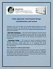A Better Approach Control Panel Design Feature and Review