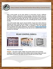 Every Little Thing You Should Familiar About Relay Control Panels