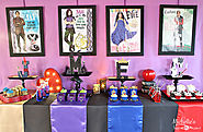 How to Plan a Disney Descendants Watch Party - Michelle's Party Plan-It