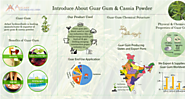 Introduce About Guar Gum & Cassia Powder - Infographic