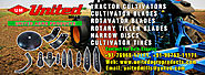 Tractor cultivators blades shovels, rotavator blades, tines, harrow discs manufacturers exporters suppliers in india,...