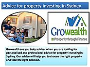 Advice for Property Investing Sydney