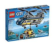 LEGO City Deep Sea Explorers Helicopter Building Kit