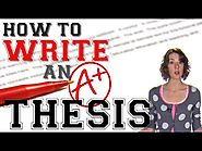 Thesis Statements: Four Steps to a Great Essay (YouTube video)