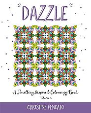 Dazzle (A Jewellery Inspired Colouring Book) (Volume 3)