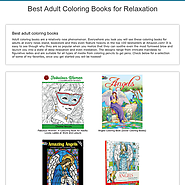 Best Adult Coloring Books for Relaxation