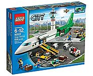 LEGO City 60022 Cargo Terminal Toy Building Set