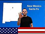 50 States and Capital cities in ASL