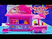 Hello Kitty Sanrio Fun Fair Kiosk Playset From Sanrio Toys Store Video ★ ハローキティ おもちゃ