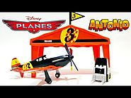 Disney Planes Antonio Pit Row Gift Toys Video ★ Juguetes de Aviones Disney ★ Дисней Самолеты игрушки