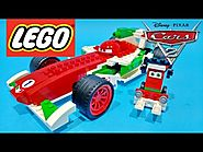 Disney Pixar Cars 2 Video Ultimate Francesco Bernoulli & Pittie Crew LEGO Toys - Juguetes de Cars 2