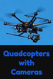 Quadcopter Drones with Camera and Monitor - Kims Five Things