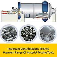 How To Buy Material Testing Equipment?