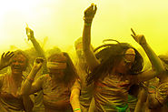 Best Way To Celebrate Holi Gulal Hindu Festival