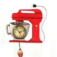 Best Red Kitchen Wall Clocks: Retro, Electric Small and Large