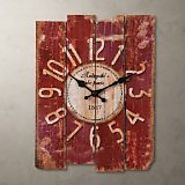 Top Rated Red Kitchen Wall Clocks