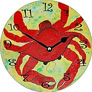 Best Large Red Kitchen Wall Clocks