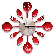 Top 10 Best Red Kitchen Wall Clocks: Retro, Modern, Funky, Rustic, Rooster and More