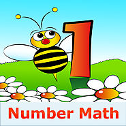A Number Math App - practice basic elementary number facts for kindergarten, 1st and 2nd grade kids - FREE