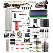 RobotLinking Project Super Starter Kit for Raspberry Pi 2 & Model B+ w/ 40-Pin GPIO Extension Board, GPIO Cable, ...