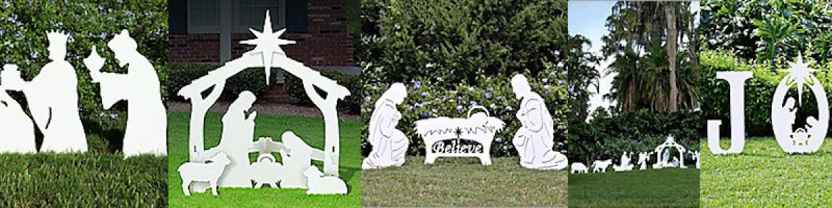 Headline for Nativity Silhouette Yard Decoration
