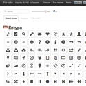 Fontello - icon fonts generator