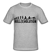c016 | Tretroller T-Shirts Roll(E)volution