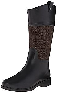 Chooka Women's Candice Rain Boot, Brown, 8 M US