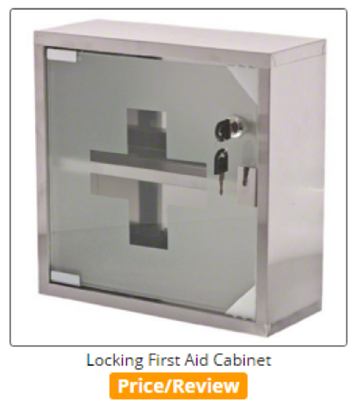 Headline for Best Glass & Stainless Steel First Aid Medical Cabinets