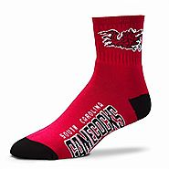 Gamecocks Garnet Quarter Length Socks Stocking Stuffers