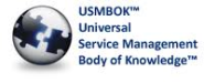 USMBOK - Universal Service Management Body of Knowledge