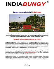 How Safe is it To Go For Bungee Jumping in India?