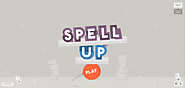 Spell Up. Speak to play and build up your English.
