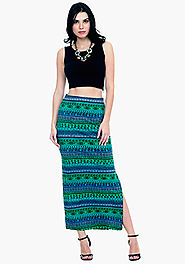 Buy Stylish Maxi Skirts From Faballey