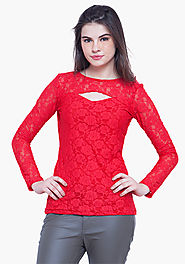 Buy Stylish Lace Tops From Faballey
