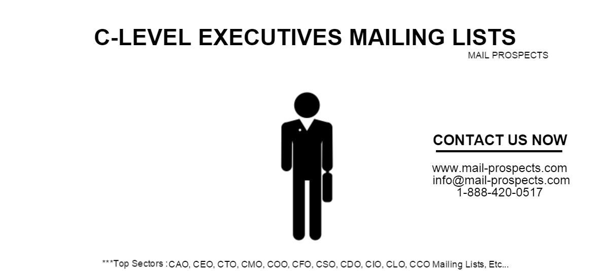 C-Level Executives Mailing List   A Listly List