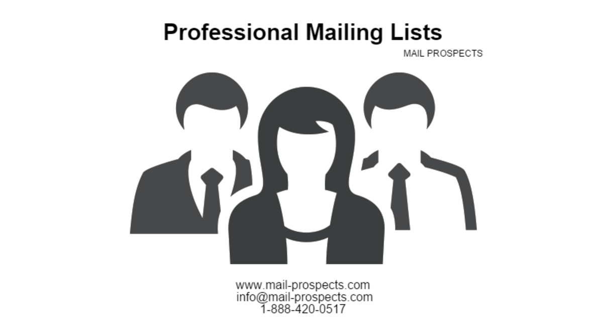 Headline for Professional Mailing List