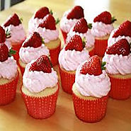 Muffin Recipe With Strawberry | Sweet Muffin Recipe | Muffin Recipe