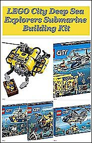 LEGO City Deep Sea Explorers Submarine Building Kit | Listly List
