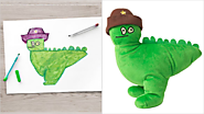 Ikea Lovingly Turned These 10 Children's Drawings Into Actual Plush Toys