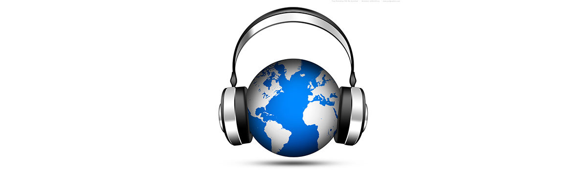 Headline for English-Language Podcasts and Audio to Help You Learn About the World Outside the United States