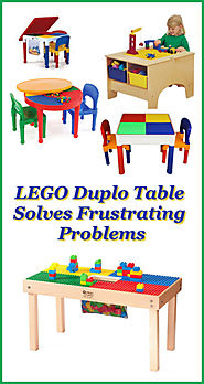 LEGO Duplo Table Solves Frustrating Problems