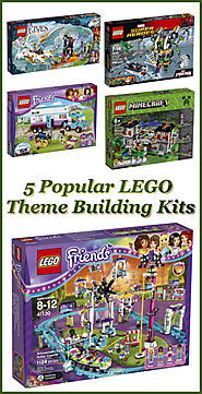 5 Popular LEGO Theme Building Kits