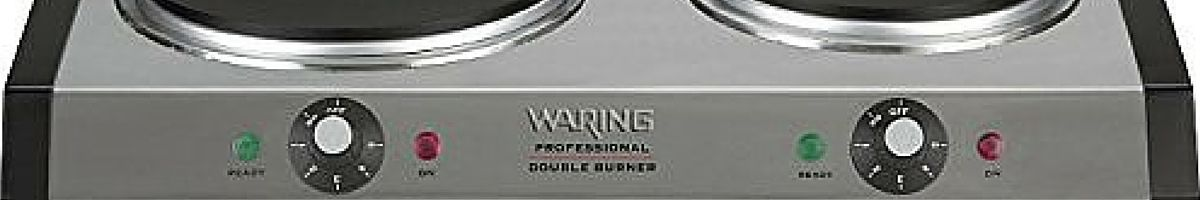 Headline for Waring Pro Portable Double Burner